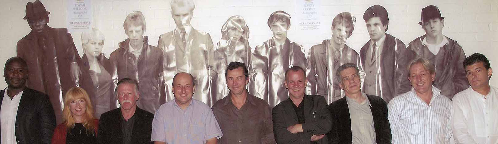 Roy with the Main Cast of Quadrophenia at Reunion